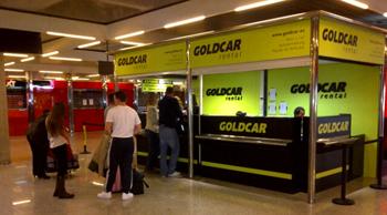 Goldcar leiebil Madrid Togstasjon
