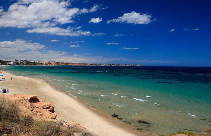 Costa Blanca kysten i Spania