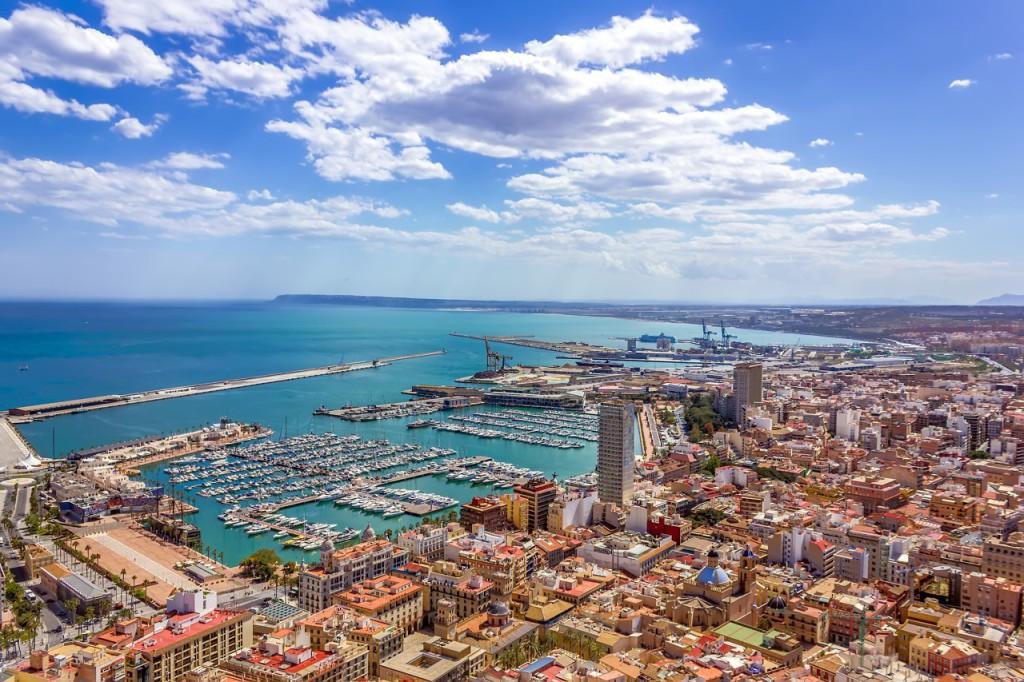 Alicante i Alicante provinsen