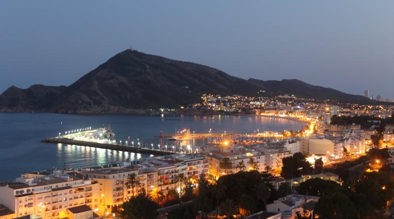 Altea ved kysten i Spania