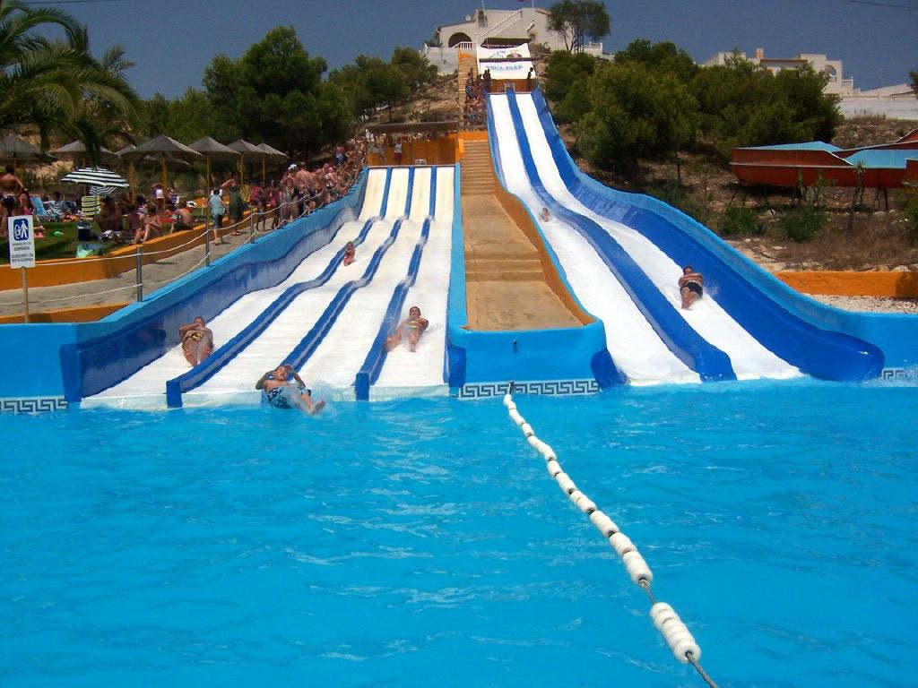 Badeland og badepark aktiviteter barn Costa Blanca