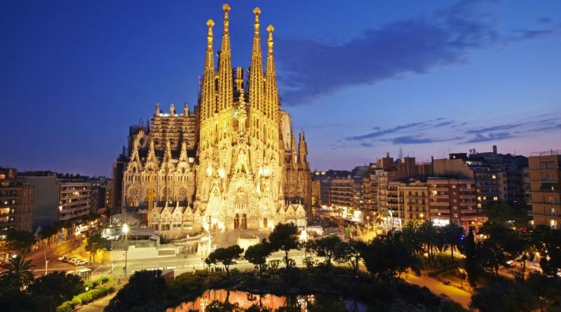 Spanske byer ved kysten
