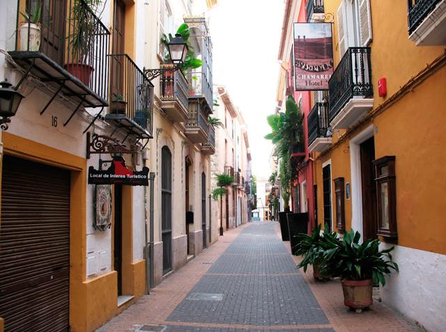Gaten Calle Cavallers i Denia