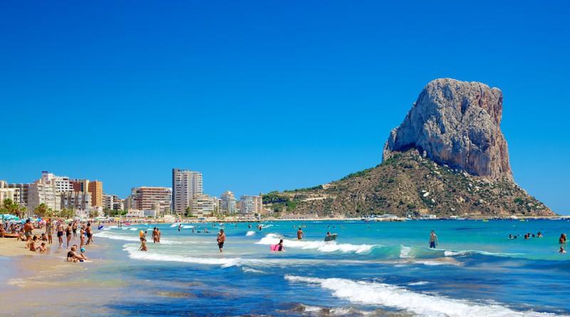 Calpe i Alicante provinsen
