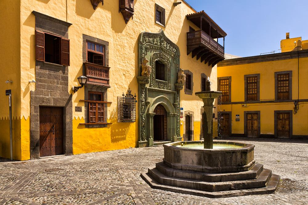 Casa De Colon Columbus Huset Las Palmas Gran Canaria