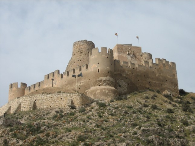 Slottet Castillo de San Fernando Alicante