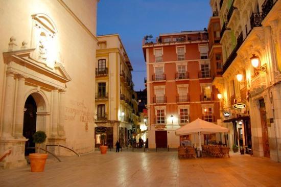 Gamlebyen i Alicante El Barrio