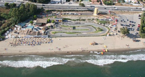 Go kart bane Funny Beach Marbella Costa del Sol