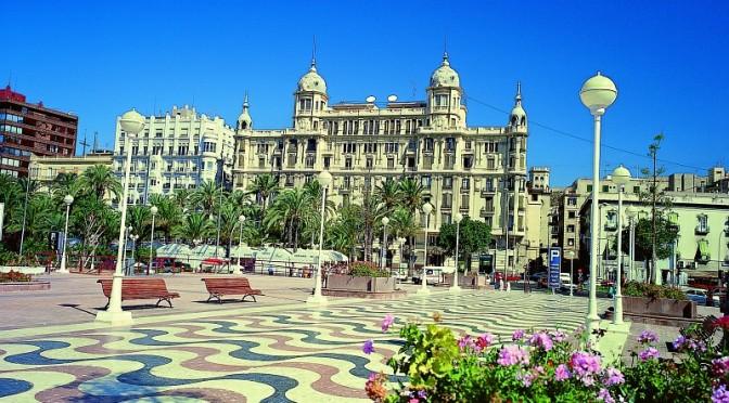 Havnepromenaden Explanada de España Alicante