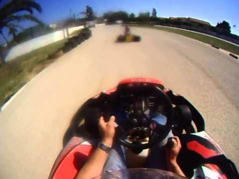 Karting Javea Racing Costa Blanca Spania
