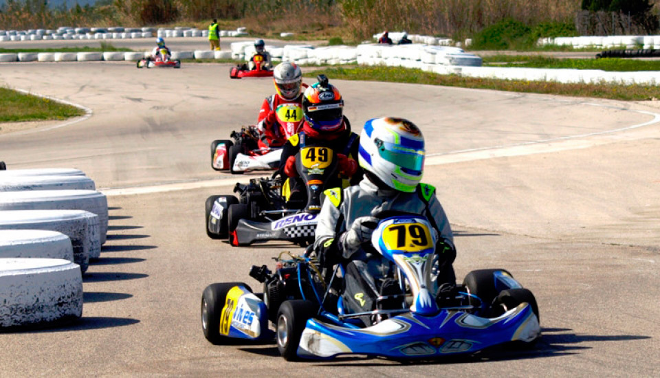 Go-kart aktiviteter for barn Costa Blanca