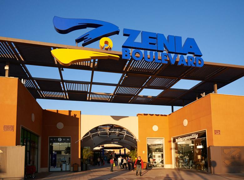Kjøpesenter Zenia Boulevard Torrevieja