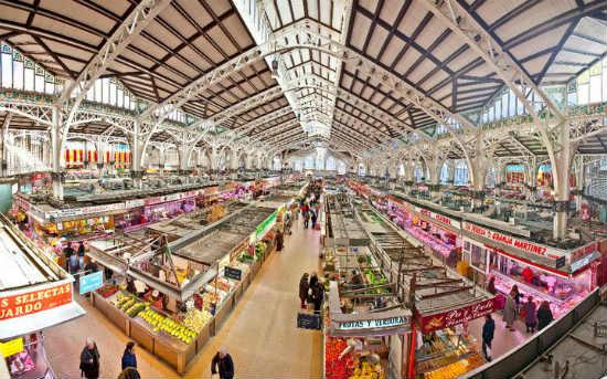 Mercado Central i Valencia