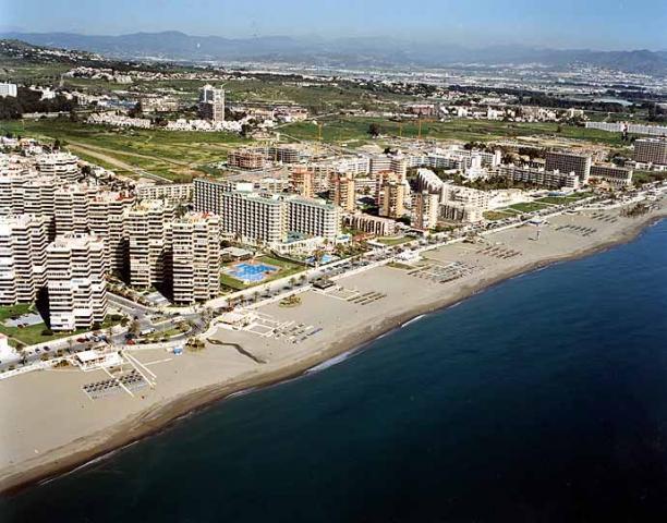 Playa de la Playamar stranden Torremolinos