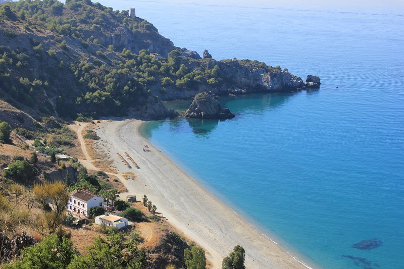 Playa del Cañuelo Nerja
