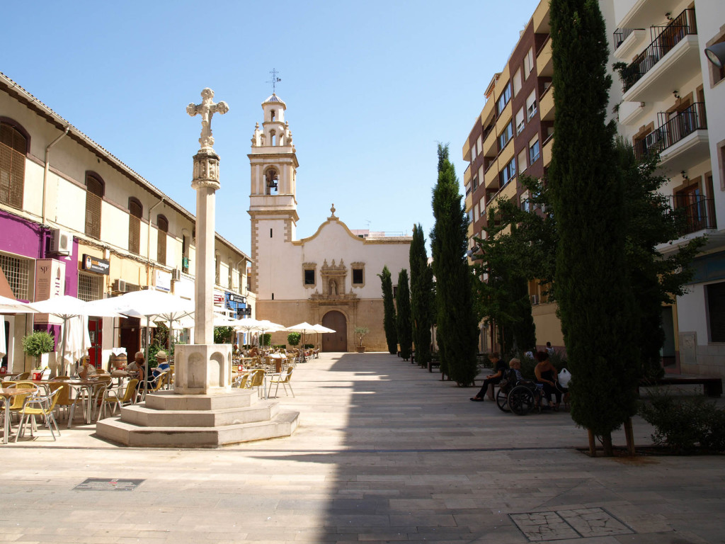 Plaza Convent i Denia