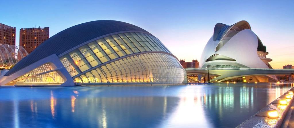 Severdigheter og attraksjoner i Valencia