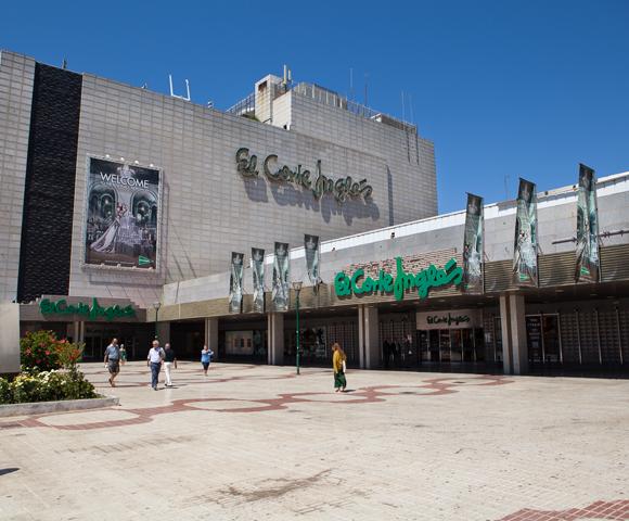 Shopping El Corte Ingles Malaga