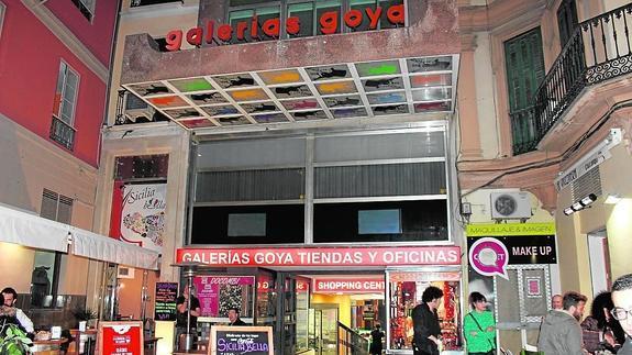 Shopping i Galerias Goya i Malaga