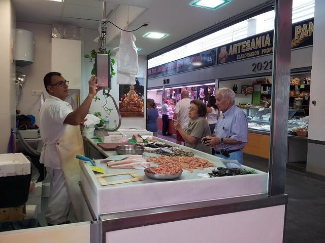Shopping Mercado del Carmen Malaga
