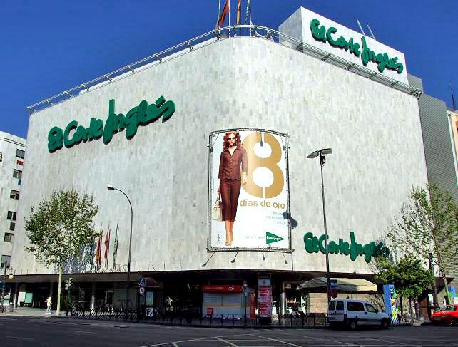 Shopping el corte ingles Alicante