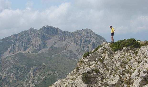 Sierra de Aitana Fjelltur Costa Blanca