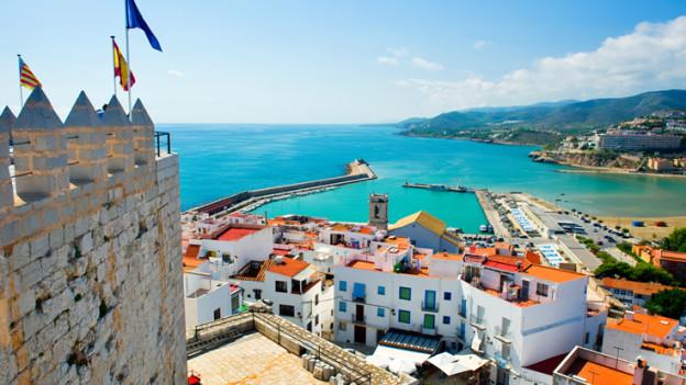 Byer spanske kysten