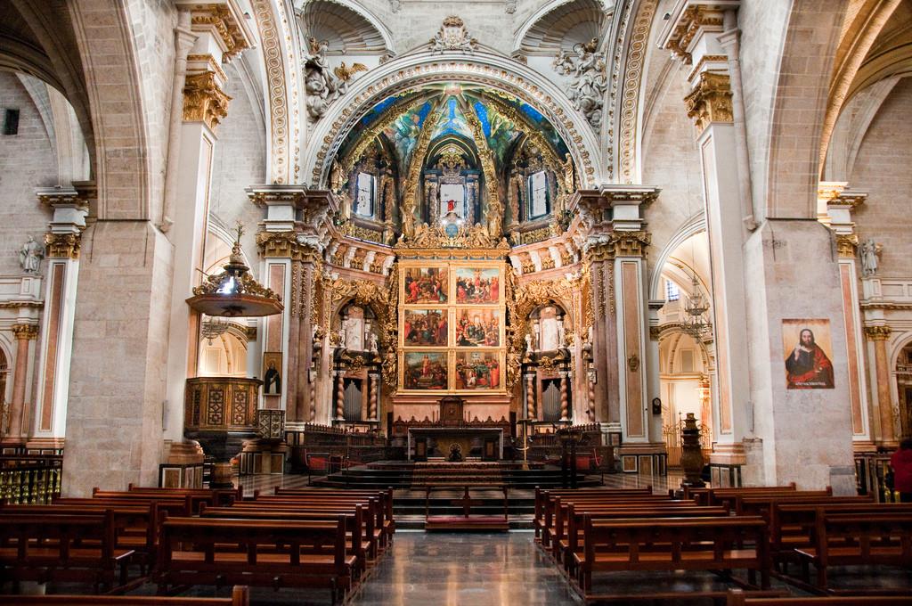 Valencia katedralen i Spania