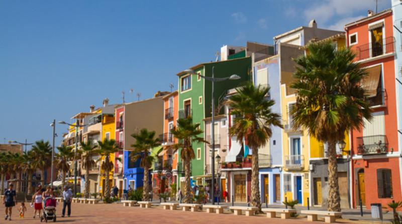 Villajoyosa i Alicante provinsen