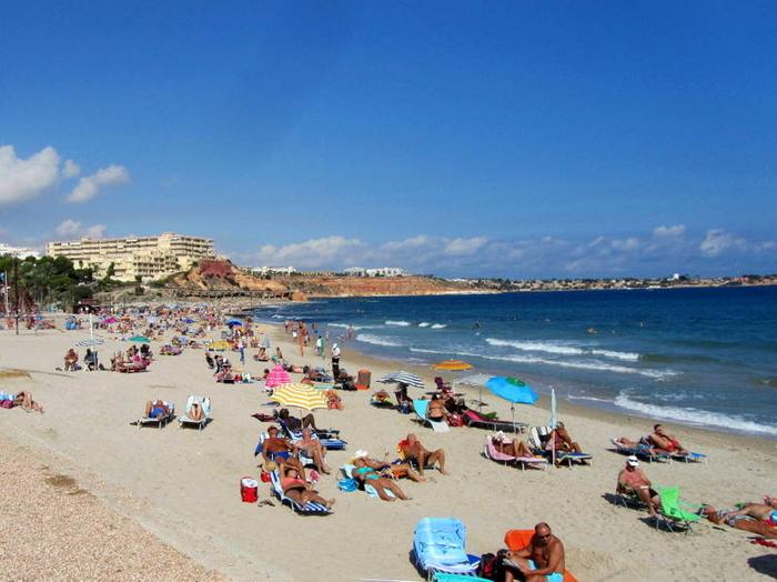 Klimaet i Alicante i Spania
