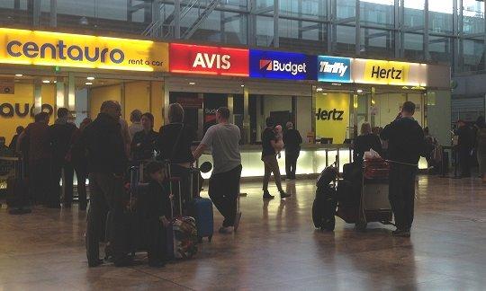 ankomst alicante lufthavn