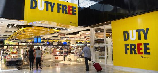 Butikker og shopping Alicante lufthavn