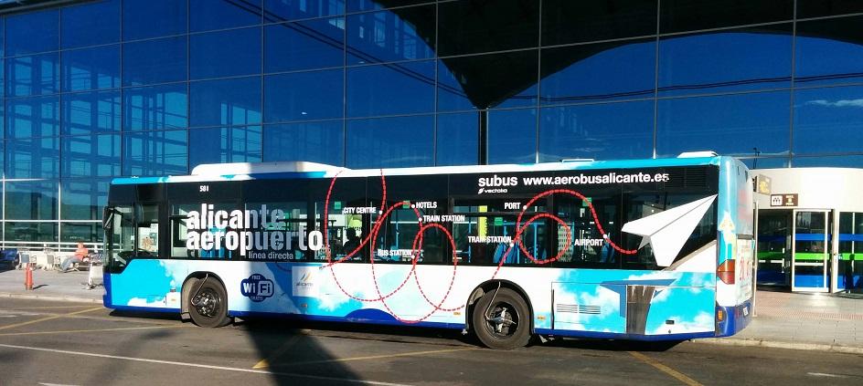 Buss Alicante flyplass