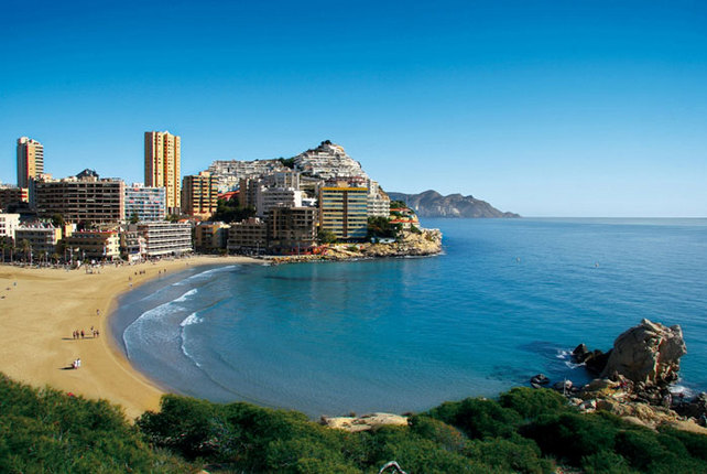 Strand Finestrat La Cala Playa i Alicante