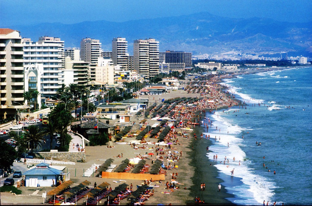 Fuengirola i Malaga Provinsen