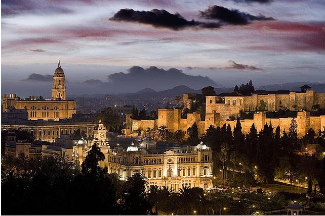 Malaga provinsen i Spania.