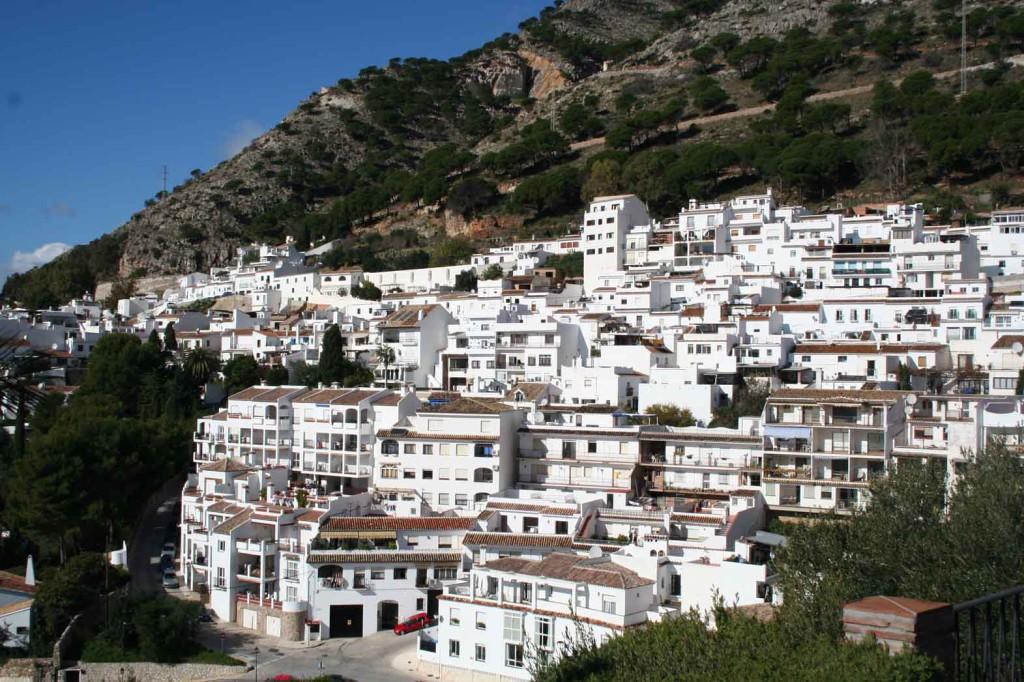 Mijas i Malaga Provinsen