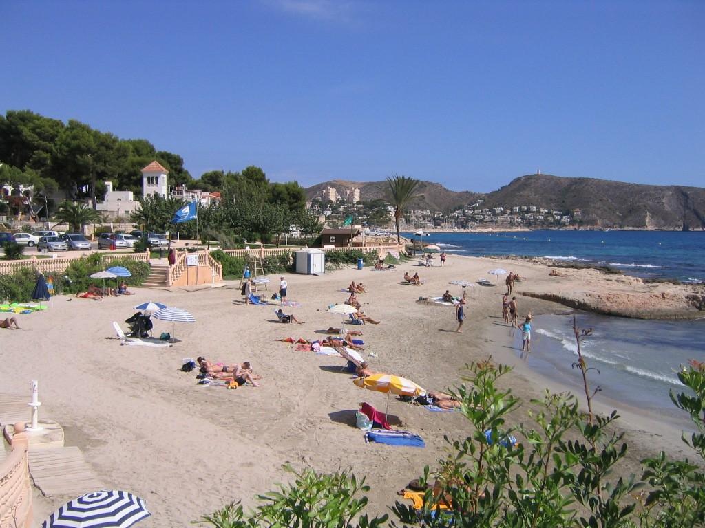 Strand Moraira Platgetes