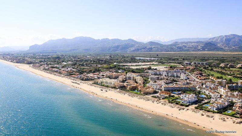 Strand Oliva L´Aigua Morta i Alicante