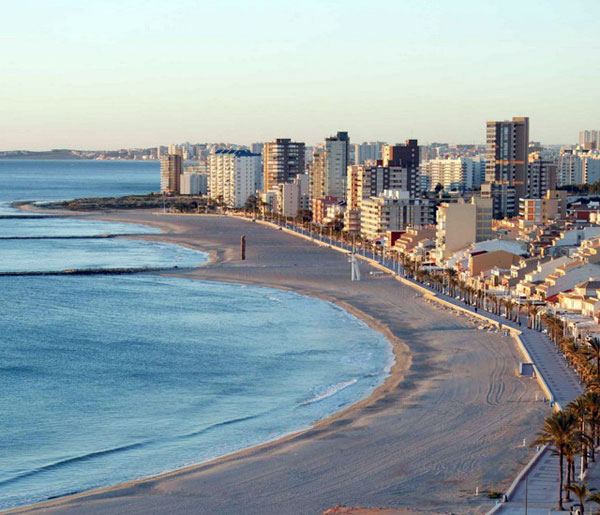 Strand Playa de Carrer del Mar i Alicante