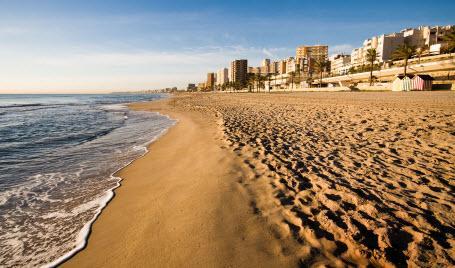 Strand Playa de L´Horta Mutxavista i Alicante