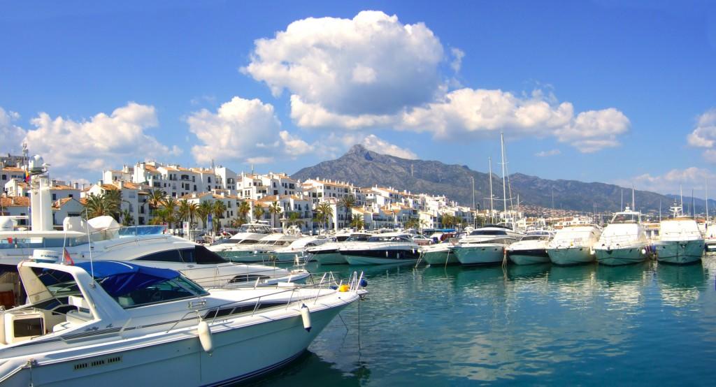 Puerto Banús i Malaga Provinsen