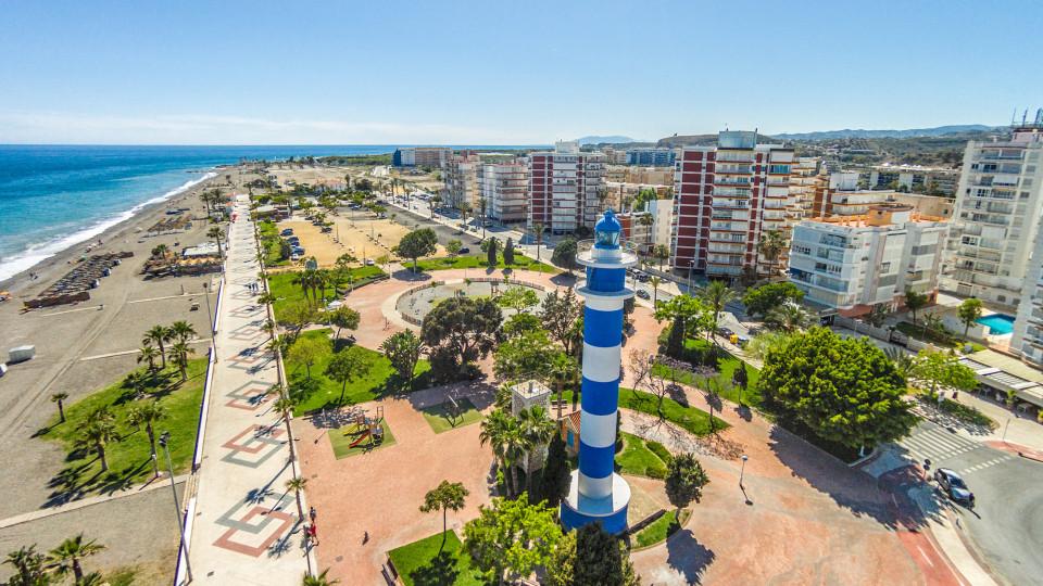 Torre del Mar i Malaga Provinsen