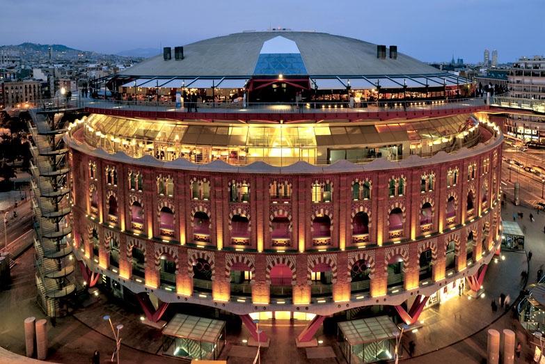 Severdigheter markeder i Barcelona
