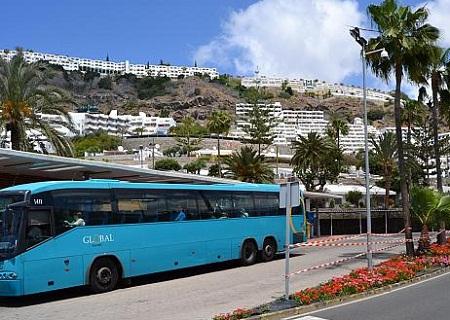 Buss Gran Canaria flyplass