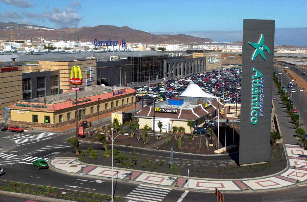 Atlantico kjøpesenter Gran Canaria