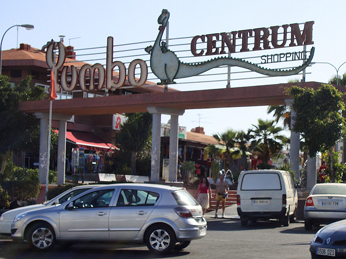 Yumbo Centrum kjøpesenter Gran Canaria