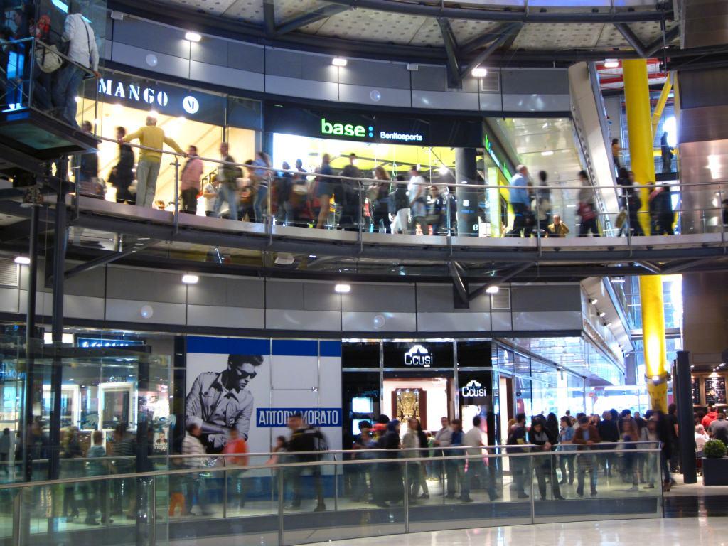 Kjøpesenter i Barcelona