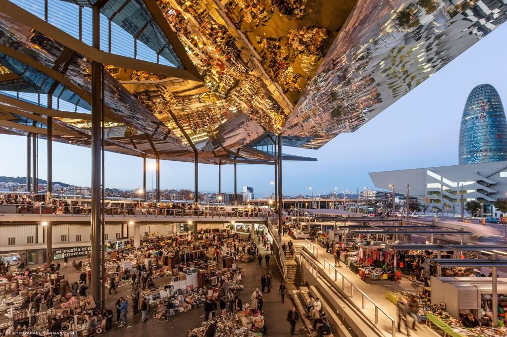 Encants markedet i Barcelona
