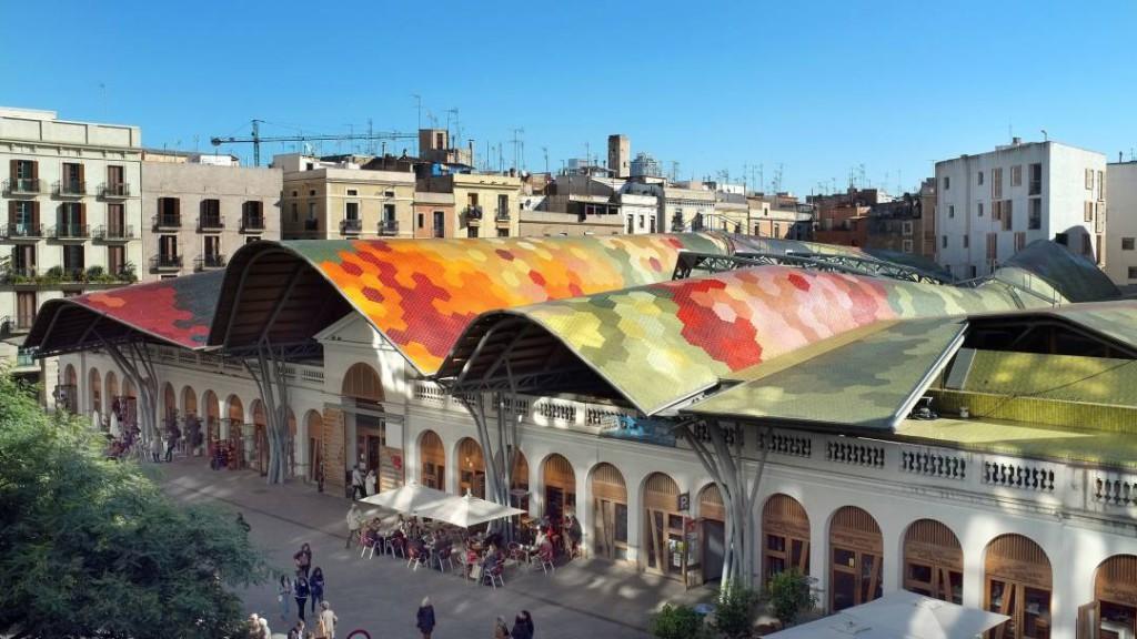 Mercat de Santa Caterina i Barcelona